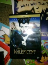 Maleficent dvd Afton