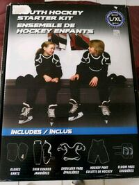 Selling New Youth Hockey Started Kit Size L/XL Vaughan