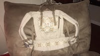 baby's white breathable carrier