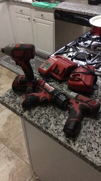 Red and black cordless power drill Capitol Heights, 20743