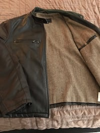 Men's ALDO Real Leather/Nylon Jacket Brampton, L6P 1G7