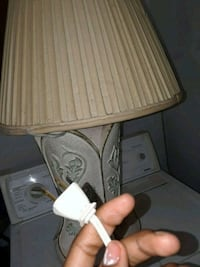 white and brown table lamp Wichita, 67211