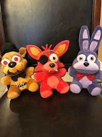 four assorted color animal plush toys Vaughan, L4H 1X1