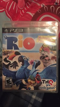 Rio PS3 game case Hagerstown, 21740