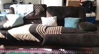 black and white fabric sectional sofa San Diego, 92104