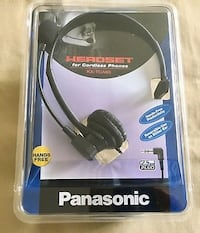 Panasonic KX-TCA60 Hands-Free Headset with Comfort Fit Headband for Use with Cordless Phones Hallandale Beach