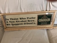 Odouls beer sign mirror Thurmont, 21788