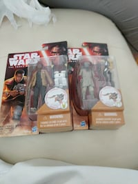 Star wars battle packs $5 each Cranston, 02920