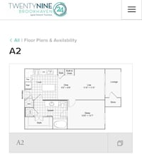 APT For rent 1BR 1BA Brookhaven
