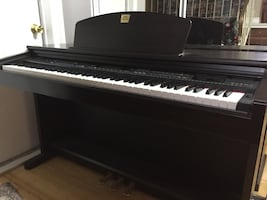 Yamaha Clavinova -Model CVP 201 with stool