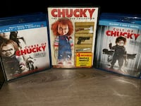 Child's Play Movie Collection (dvd/blu-ray/Horror) Gaithersburg, 20879