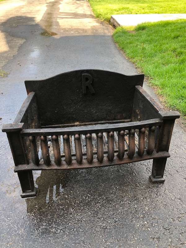 Solid Cast Iron Fireplace Cradle