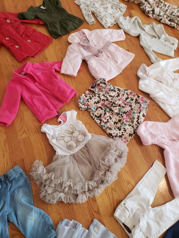 12-18 month girl Clothing; 30 items; like new; quality  8323d63c-3276-4d9e-900f-cc203a292b3a