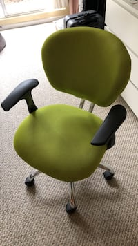 Lime green office chair San Francisco, 94109