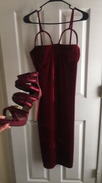 Bur Velvet dress L  Upper Marlboro, 20774