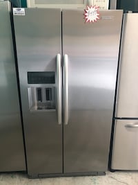 A stainless steel side by side Kitchen Aide refrigerator  Lehigh Acres, 33973