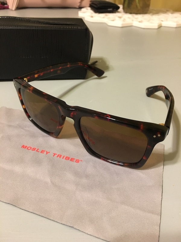 f8a435c09b Used Mosley Tribes Lyndel men s sunglasses Tortoise for sale in East  Greenwich - letgo
