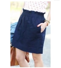 J Crew Paperbag Skirt Navy Size 2 New Haven, 06511