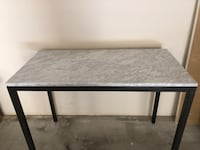 West Elm Marble Box Frame Counter Table San Diego, 92130