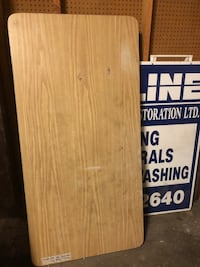 Folding Table $10 - 1 leg a bit bent - fixable New Westminster, V3M