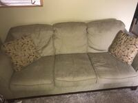 Olive green couch for sale Burnsville, 55337