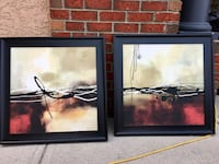 Contemporary art. $40 for the pair Calgary, T2C