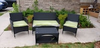 4 p Patio Sofa Set - ASSEMBLED