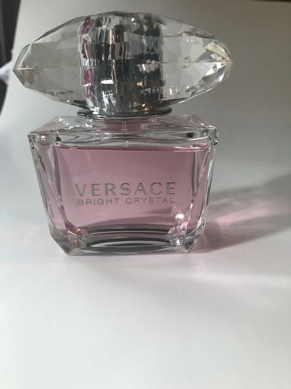 Versace Bright Crystal Perfume 3.0 Fl Oz Lightly Used
