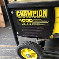 4000 watt champion generator New Westminster, V3M 2R3