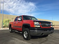 2004 Chevrolet Silverado 2500HD 4x4 6.0L Crew Cab Excellent Condition Las Vegas