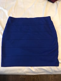 women's blue skirt Markham, L6E 0G9
