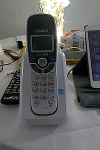 black and gray Vtech wireless home phone Somerville, 02144