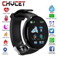 2019 Bluetooth Smart Watch Men Blood Pressure Round Smartwatch Women