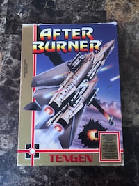 Nintendo NES After Burner Complete Boxed