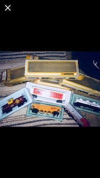 1980's bachmann trains set with working track Redding, 96002