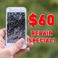 $60 any iPhone Screen Repair Special! WOW! Orlando, 32828