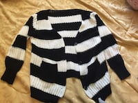 white and black striped sweater Coquitlam, V3K