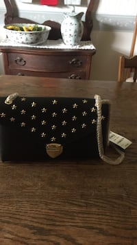 Studded star black crossbody bag Ocala, 34471