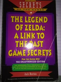 Legend of Zelda she's game book Nokesville, 20181