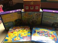 Toddler games (six in all) Jackson, 08527