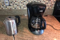 Water boiler and coffee machine