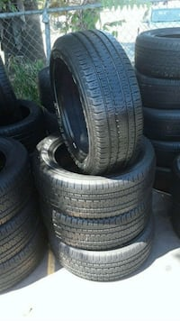 Set Bridgestone 225/55/20 semi new tires  Whittier, 90602