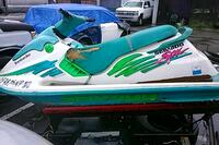 white and green personal watercraft Los Angeles, 90011