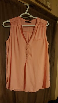 Sleeveless blouse, Suzy Shier, fits M/L Barrie, L4M 6X9