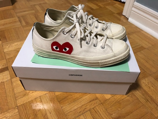 08f939156af92e Used COMME DEA GARCONS x CONVERSE for sale in Toronto - letgo