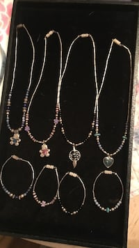silver-colored bracelets and necklace lot Cottonwood, 86326