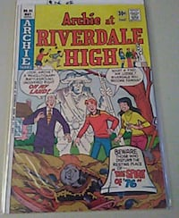 1976 Archie at Riverdale high #35 Jacksonville, 32207