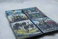 Lot of Four DVDs // Avengers, X-Men & Now You See Me London, N6G 5R6