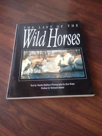 The Last Of the Wild Horses book.