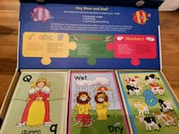 Early Learning Puzzle Set. ABC, Opposite, Numbers  Halton Hills, L7G 6B9
